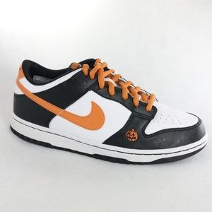 Rare NIKE Dunk Low GS 'Halloween' Sneakers 6.5Y 8W